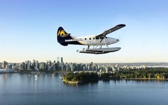 Tour panoramico classico di Vancouver in idrovolante