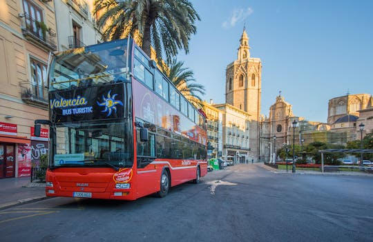 Valencia 48-hour touristic bus with entrance to San Nicolas chapel