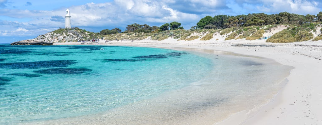 Rottnest bike rental with optional snorkeling experience from Perth