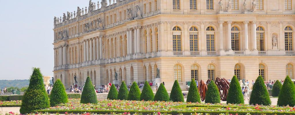 Visite guidée du château de Versailles et de Giverny avec transport et déjeuner