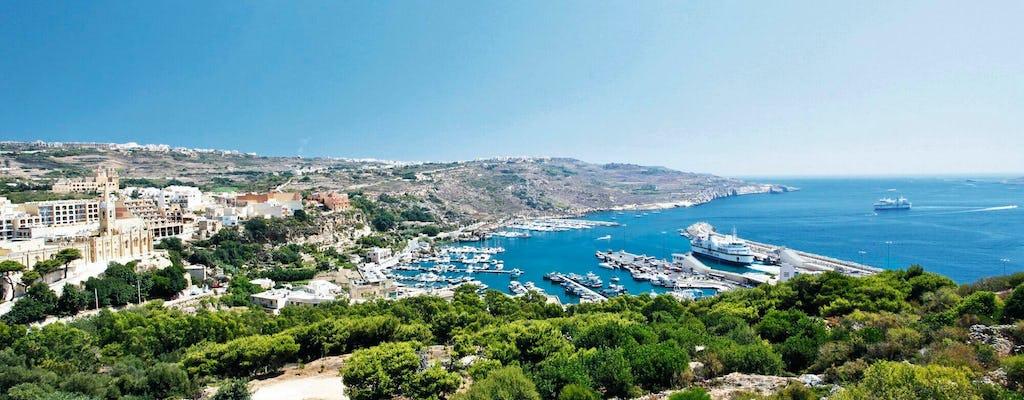 Insel Gozo Tour mit Victoria-Zitadelle