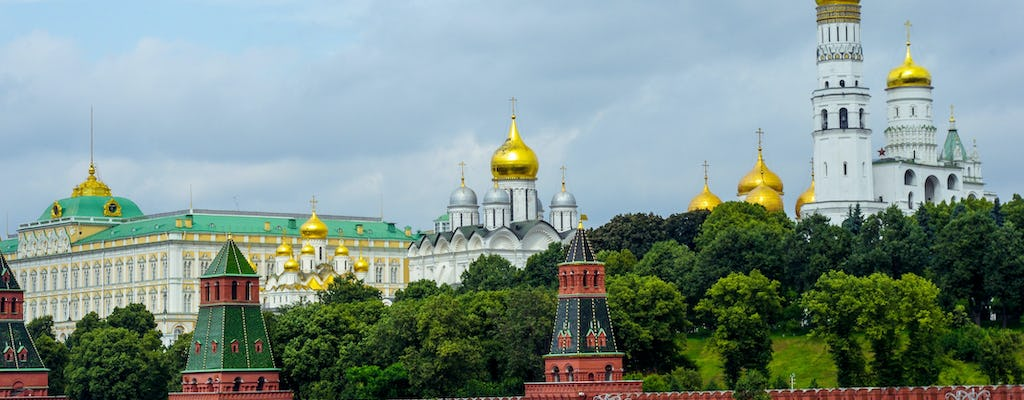 Private tour of red square and Moscow Kremlin tour with audio guide