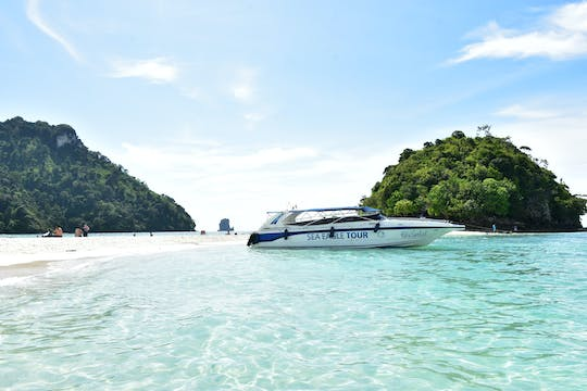4-Islands speedboat tour from Krabi with lunch