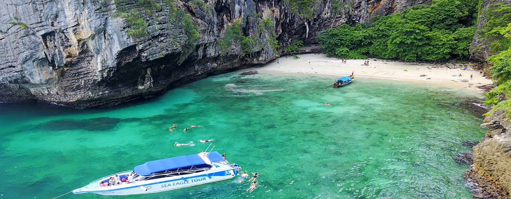 Phi Phi Island speedboat tour from Krabi with lunch