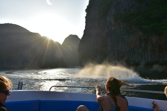 Phi Phi sunrise and 4 Islands tour from Krabi with lunch
