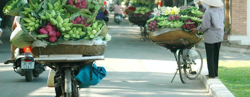 Tour de día completo por Hanoi Sightseeing con paseo en ciclo y espectáculo de marionetas de agua