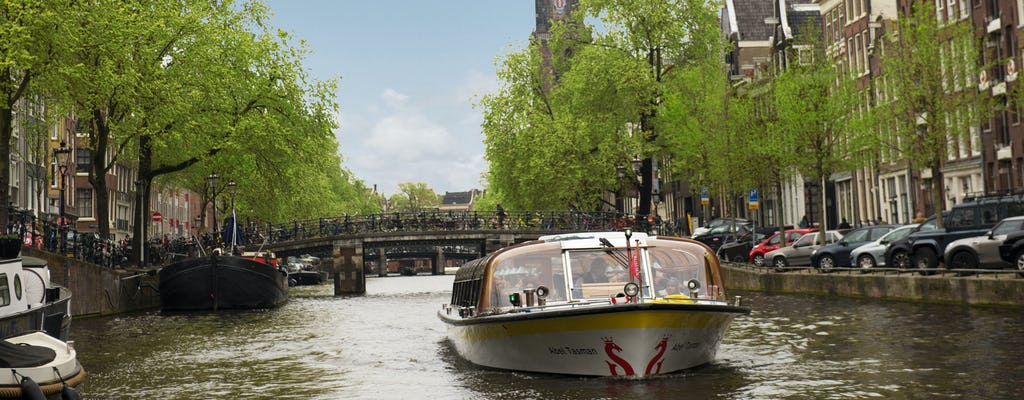 75-minute Amsterdam Canal Cruise from Rijksmuseum
