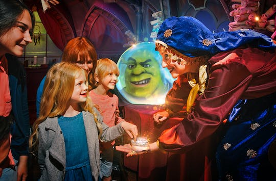 Merlin's Magical 5 em 1 passe de Shrek's Adventure!