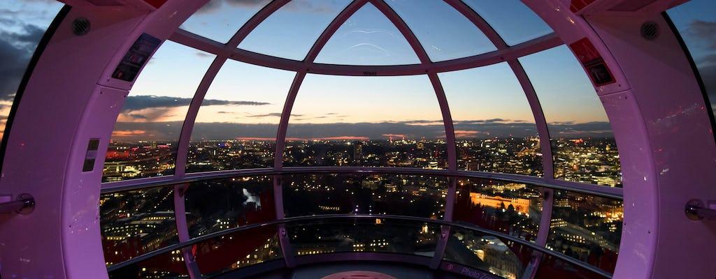 Merlin's Magical 5 in 1 pas vanaf de London Eye