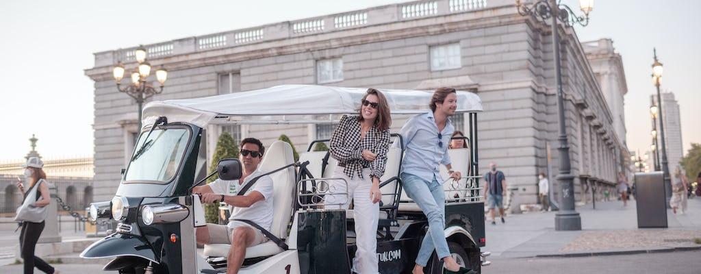 Tour elettrico tuk-tuk del centro storico di Madrid