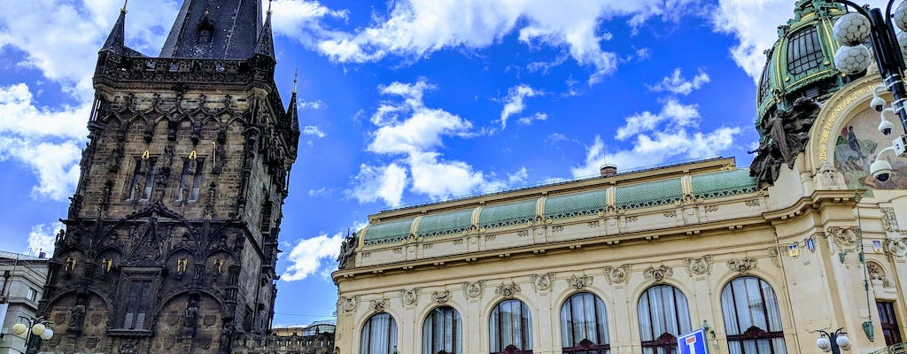 2-Hour historic downtown of Prague walking tour