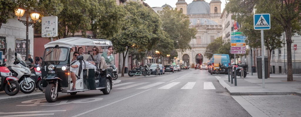 Tour completo tuk-tuk di Madrid
