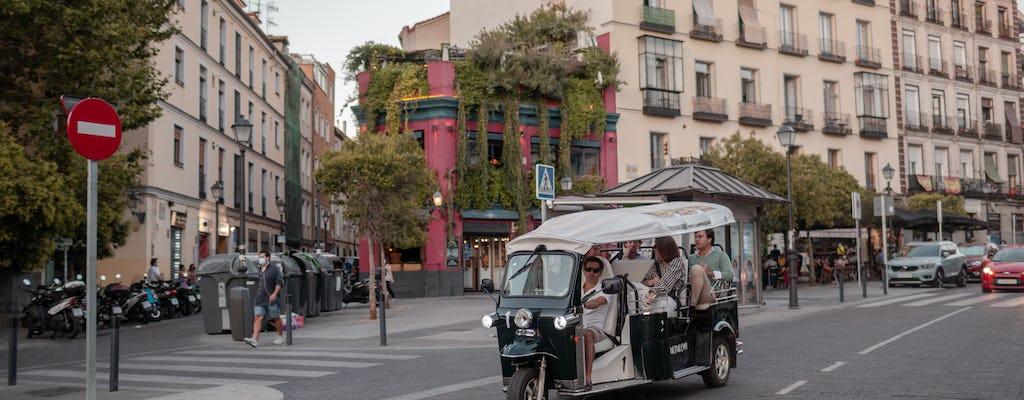 Tour tuk-tuk degli angoli di Madrid