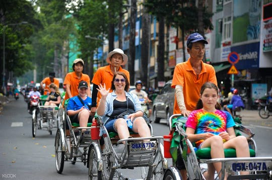 Full-day Ho Chi Minh sightseeing with cyclo ride tour