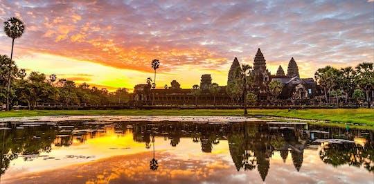 Visite d'une journée complète du temple d'Angkor et du coucher du soleil