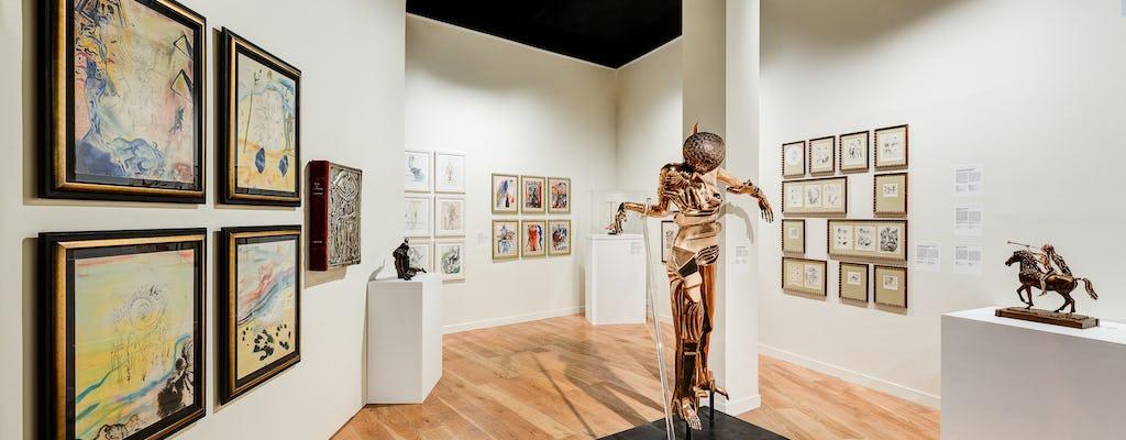 Bilet wstępu do muzeum Dalí Paris