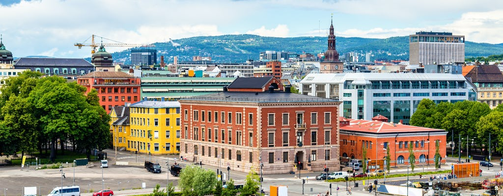 Visit special Oslo by bike
