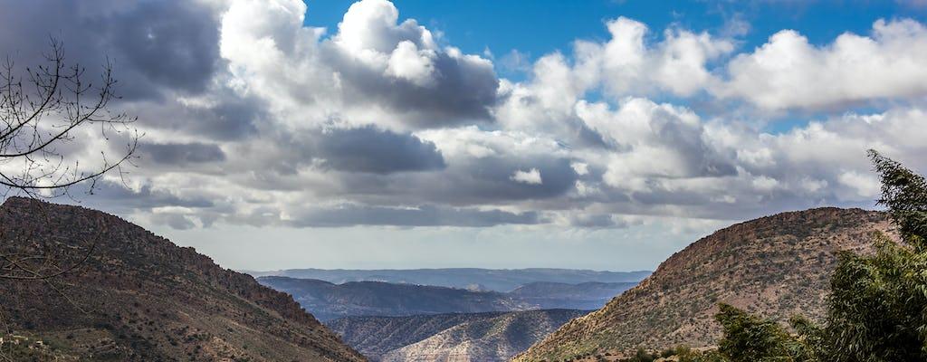 Tour des montagnes de l'Atlas