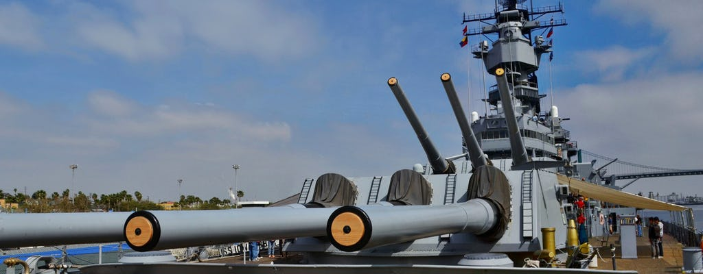 Battleship IOWA admission ticket