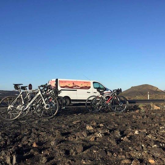 Lanzarote - wycieczka rowerem górskim