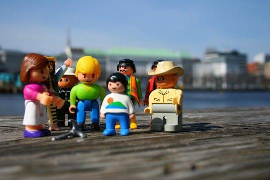 Wycieczka po mieście przyjazna dzieciom w Hamburgu