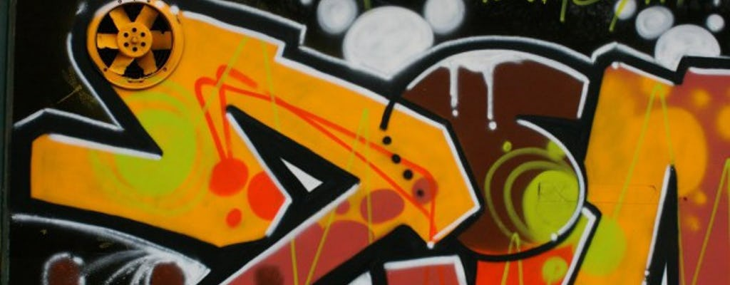Graffiti i wycieczka po mieście po mieście w Hamburgu