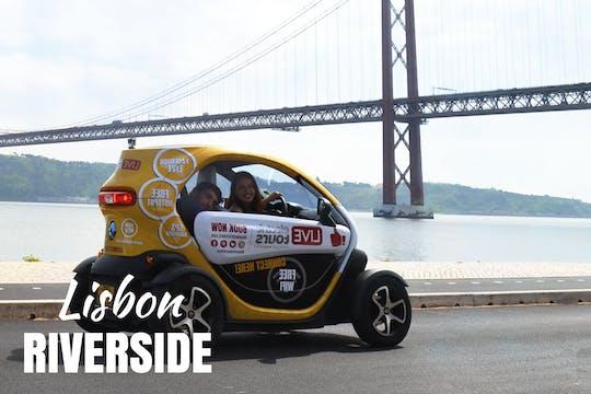 Recorrido por la ribera de Lisboa en un vehículo eléctrico con audioguía GPS