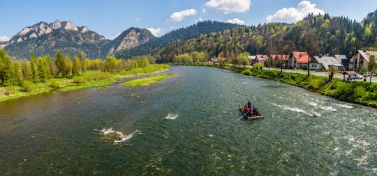 Dunajec River rafting tour with optional visit to the Thermal Bath from Krakow