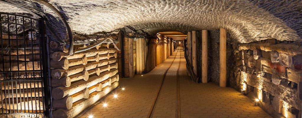 From Krakow: Wieliczka Salt Mine guided tour with pick-up