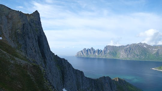 Senja summer hike on the wild side