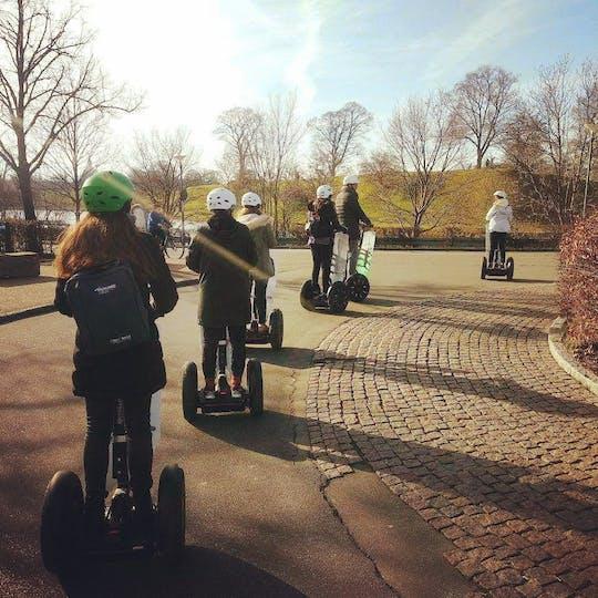O passeio de inverno do Segway ™ em Copenhague