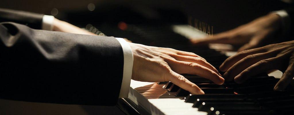 Billets d'entrée à un récital de piano Chopin à l'intérieur du musée de l'archidiocèse de Varsovie