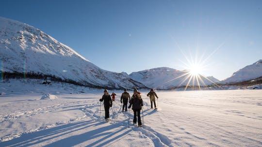 Senja winterwandeling aan de wilde kant