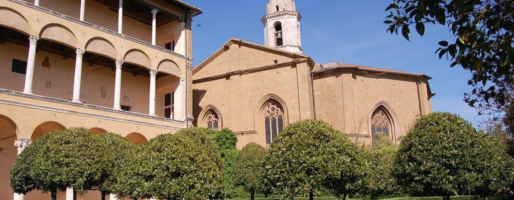 Entradas para el Palazzo Piccolomini en Pienza