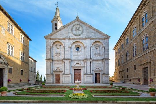 Tickets to Palazzo Piccolomini, Palazzo Borgia, Diocesan Museum, labyrinth and crypt in Pienza