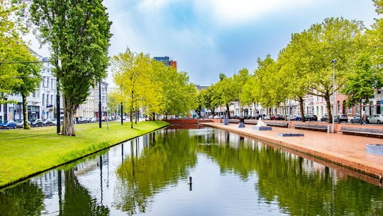 Passeio arquitetônico de Rotterdam com um local