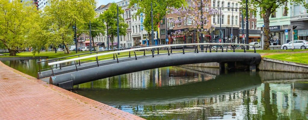 Passeggiata storica di Rotterdam con un locale