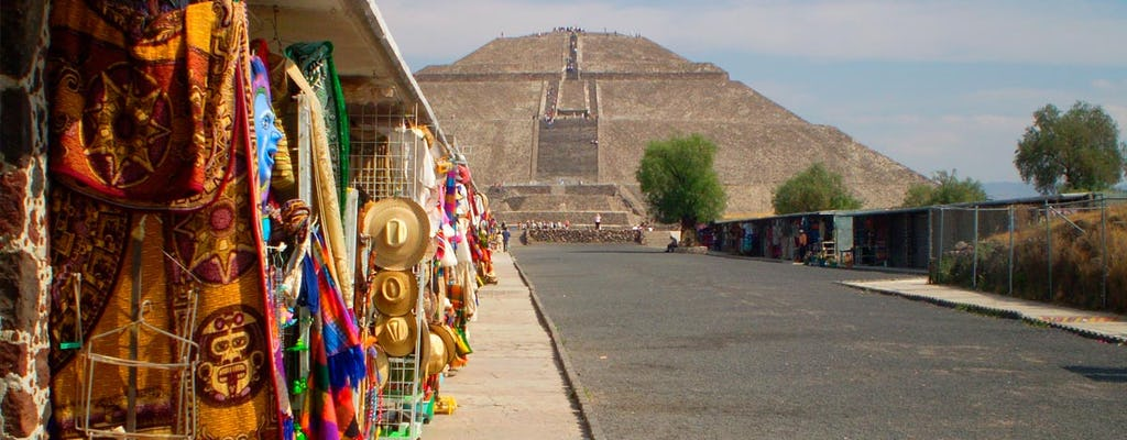 Tour di base di Teotihuacan, Santuario di Guadalupe e Tlatelolco