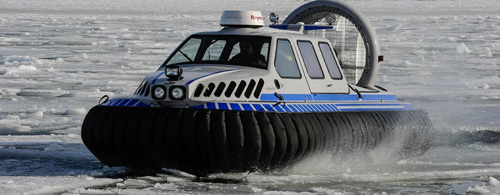 Ice experience in the Helsinki archipelago