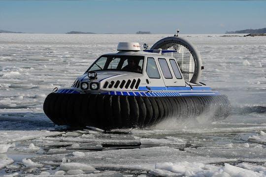 Experiencia de hielo en el archipiélago de Helsinki