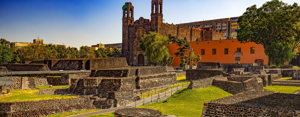 Teotihuacan, Shrine of Guadalupe i Tlatelolco all inclusive