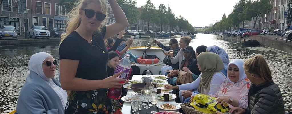 Cruzeiro privado de 1 hora pelo canal em Leiden