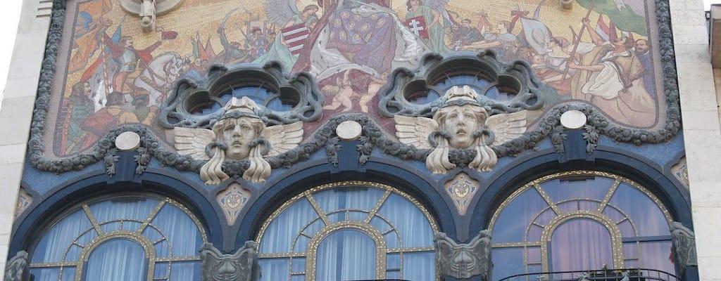 Art Nouveau de Budapeste? 3 horas de caminhada com um historiador
