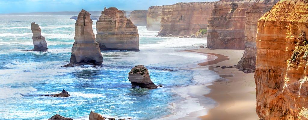 Visite en bus de Great Ocean Road avec 12 apôtres, promenade en forêt, koalas et plus