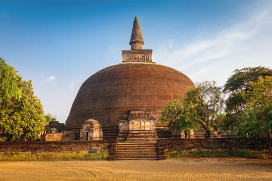 Wycieczka po mieście Polonnaruwa Z Kolombo