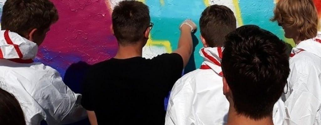 Mauerpark Berlin: open graffiti workshop
