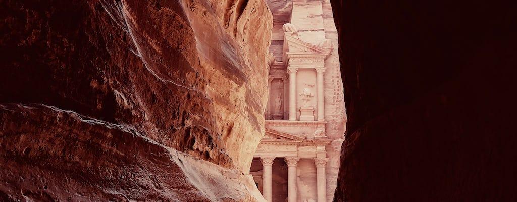 Prywatna jednodniowa wycieczka do Petry, w tym wycieczka do Małej Petry z Ammanu