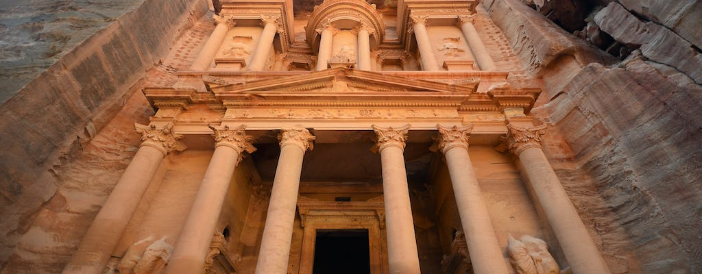 Private full-day excursion to Petra and Wadi Rum from Aqaba