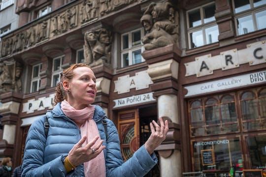 Prague Art Nouveau and Cubist Architecture historic tour