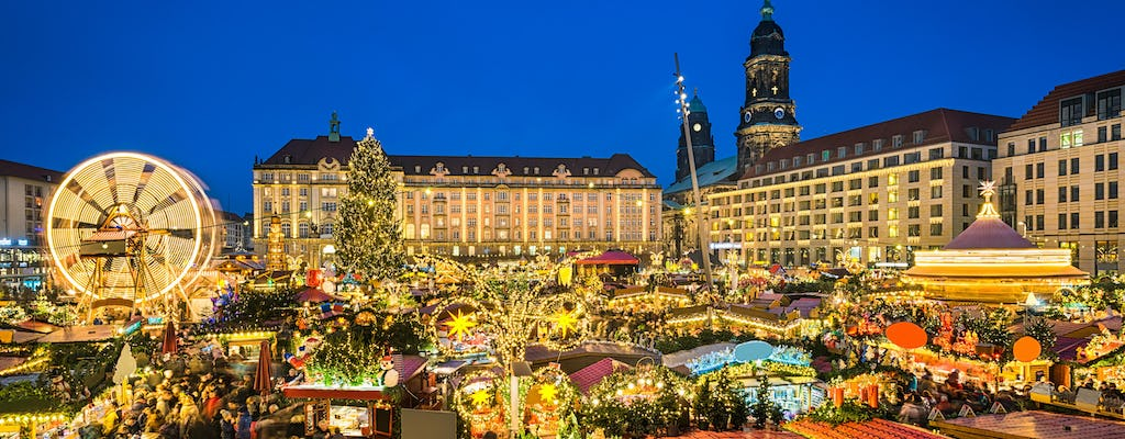Dresden bus tour with Christmas market visit